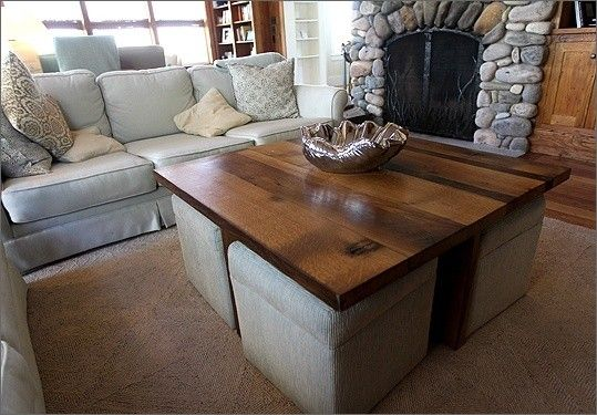 Coffee Table With Ottomans Underneath Ideas On Foter Coffee Table Coffee Table With Seating Center Table Living Room