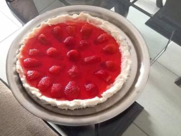 Receitas Lights da Michele: Torta light de frutas