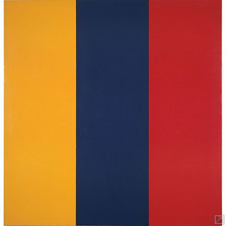 Brice Marden, Red, Yellow, Blue Painting,1974 | Red colour ...