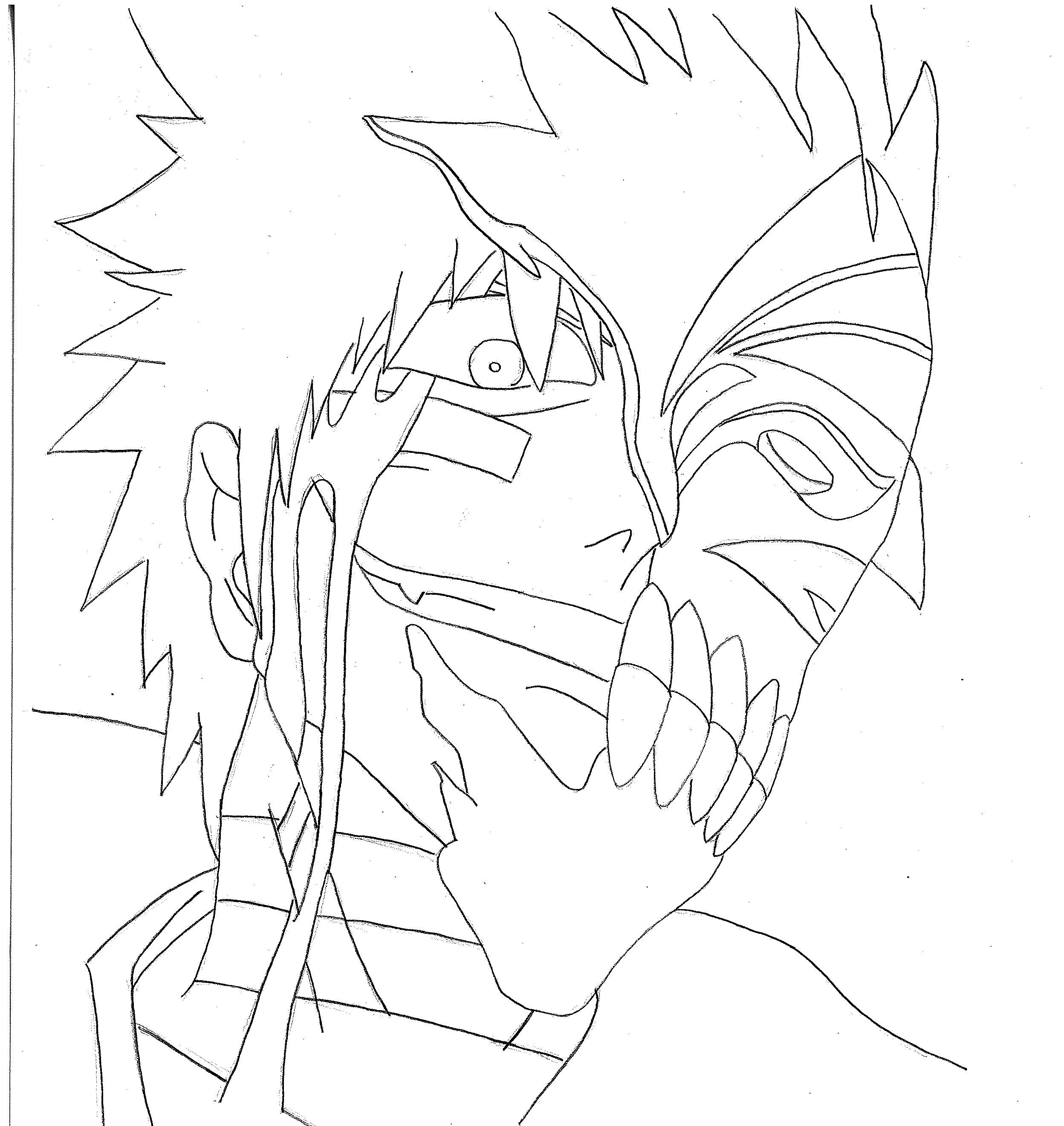 ichigo coloring pages - bleach coloring pages wallpapers pictures coloring