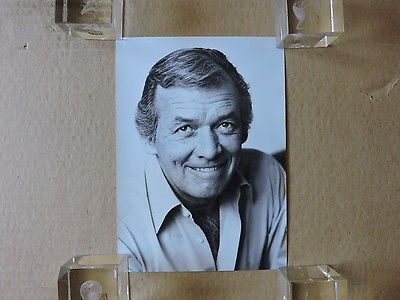 David Janssen orig studio portrait photo by Felicitas Timpe 1970's