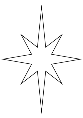 Christmas Star Coloring Page Star Coloring Pages Printable Christmas Ornaments Free Christmas Coloring Pages