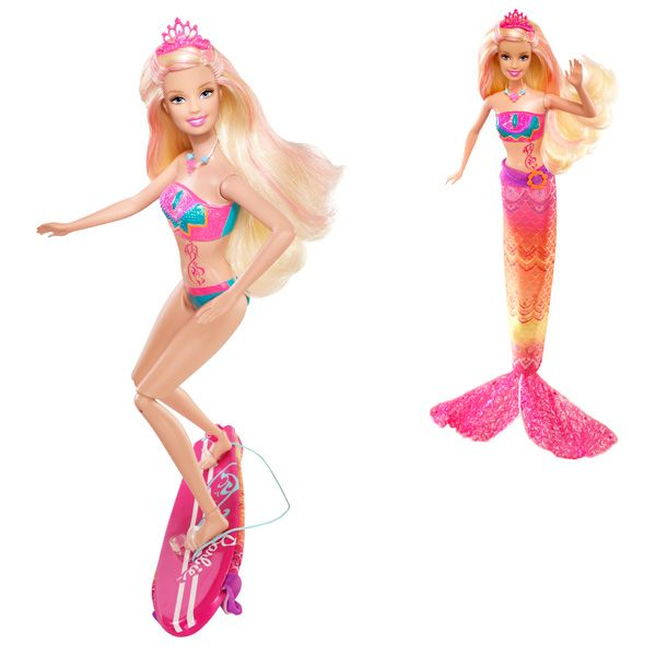 clearance prices best choice buying cheap Poupée barbie - Sirène surfeuse - à partir de 3 ans | Barbie ...
