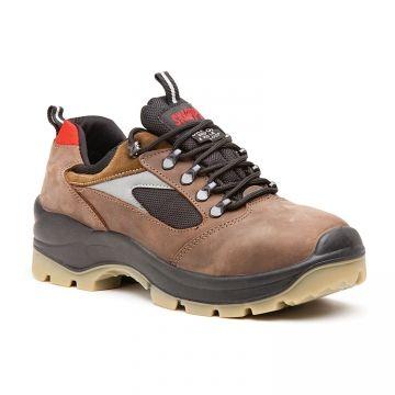 Zapato De Seguridad Skarppa Perseo S3 Src Piel Flor Hidrofugada Con Relieve Epi Seguridad Za Zapatos De Seguridad Calzado De Seguridad Zapatos De Trabajo