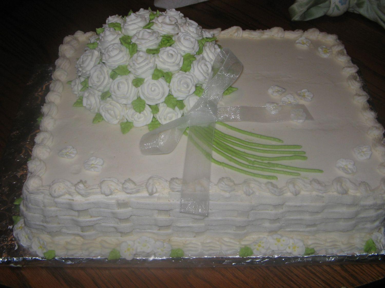 Wedding Ideas For Sheet Cake