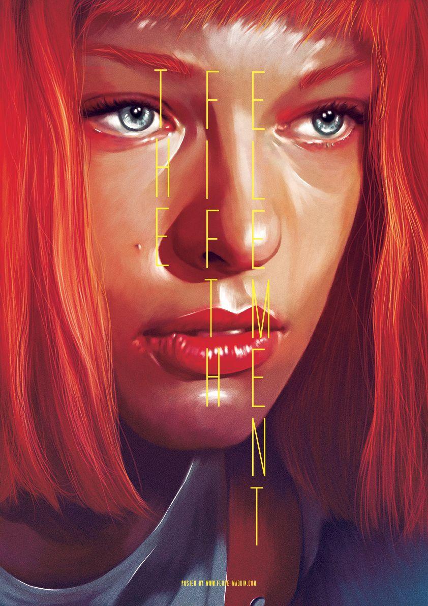 A designer francesa Flore Maquin recria cartazes de filmes famosos com uma visão própria. Ele se concentra em um personagem e usa contrastes, reflexos e cores, além de alterar a tipografia dos títu…