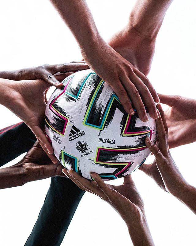 Unite In Play Introducing Uniforia The Official Match Ball For The Euro2020 Football Soccer Adidasfootball Adidas Football Football Soccer Football