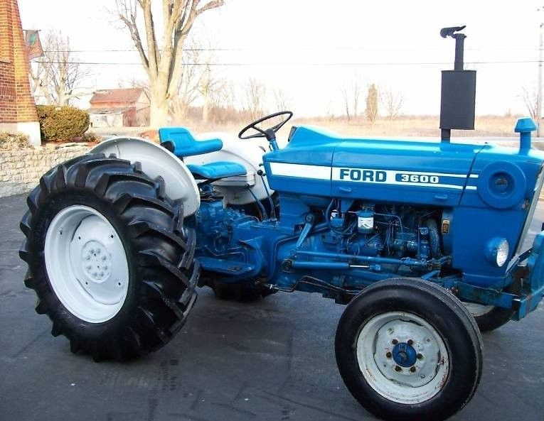 Ford 3600 1975 1981 48 Hp Tractors Ford Tractors New Holland