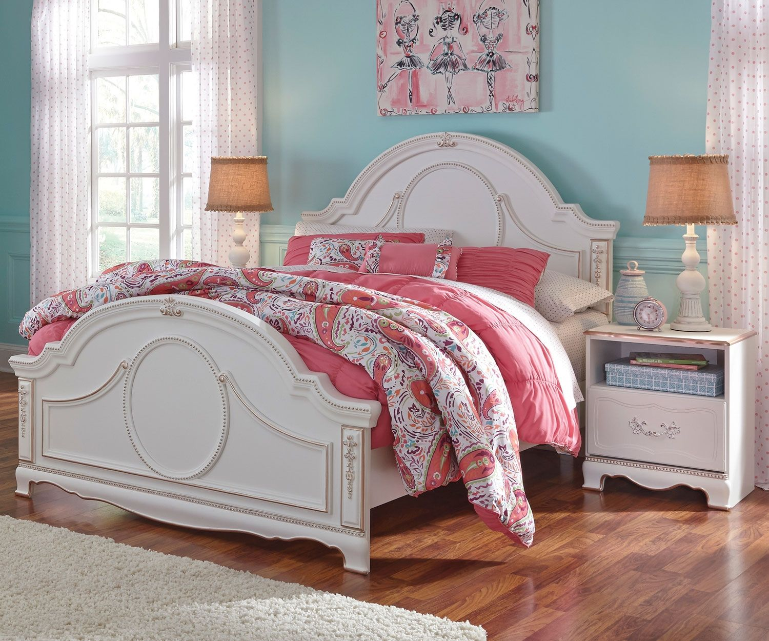 Korabella Panel Bed Full Size By Ashley Furniture B355