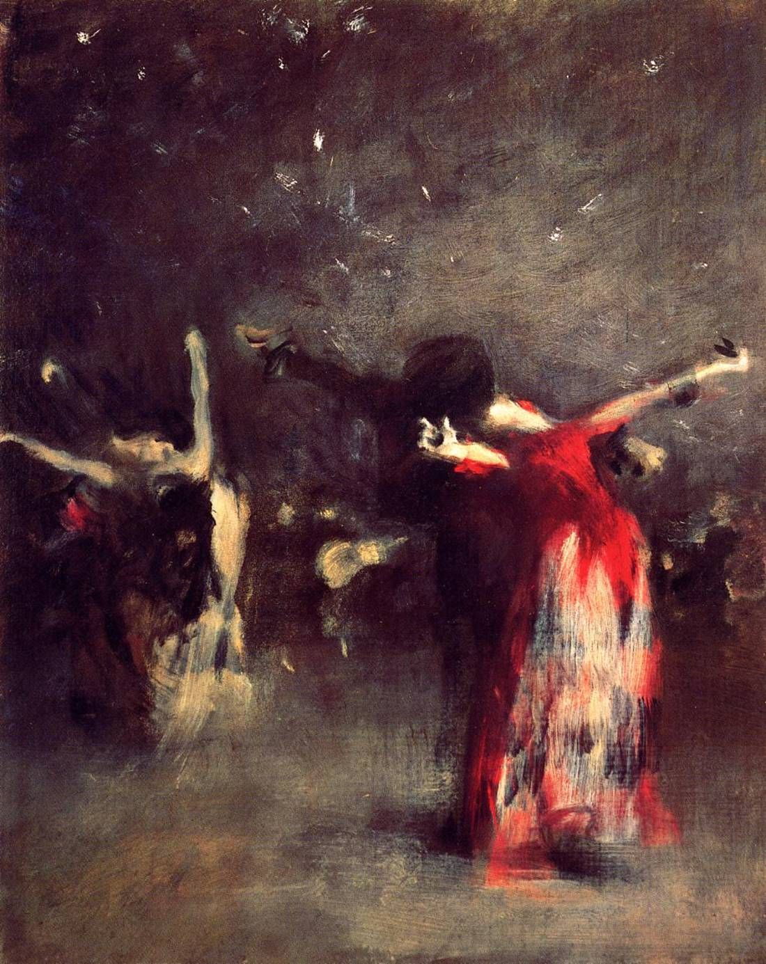 John Singer Sargent (1856-1925) - Study for The Spanish Dance, 1879-80