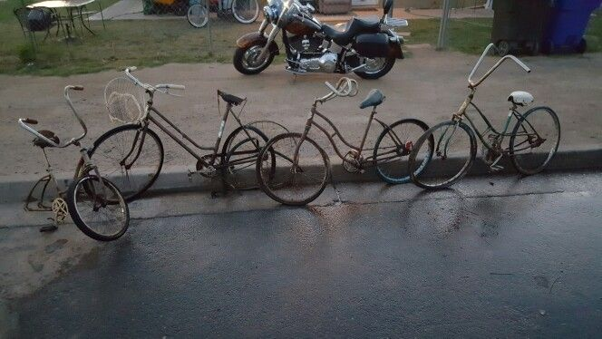 Bicycle barn find