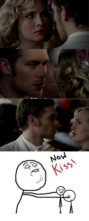 how i feel everytime i watch the two of them together -_- #teamklaroline