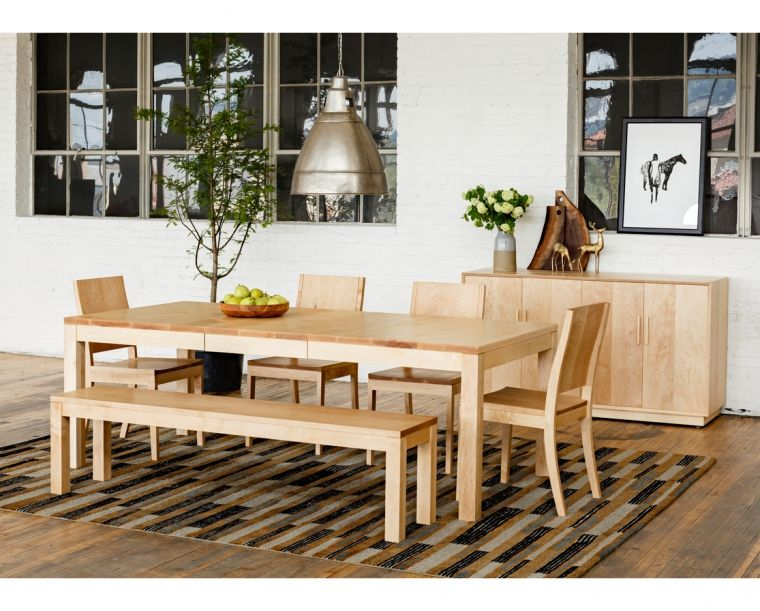 Studio Dining Table In White Oak In 2019 Dining Table Dining