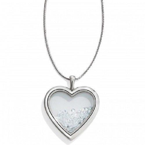 Brighton Pure Love Necklace Crystal Necklace Silver