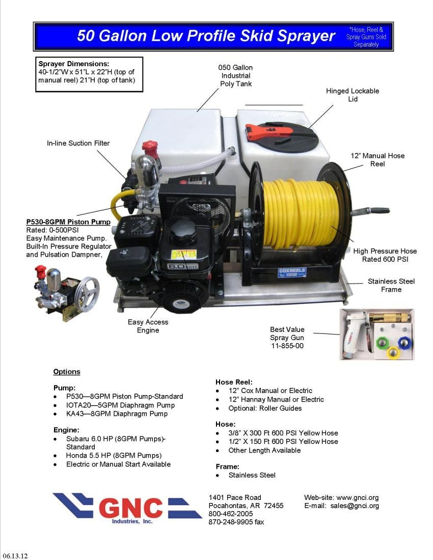 pest control power sprayer rig (With images) Power