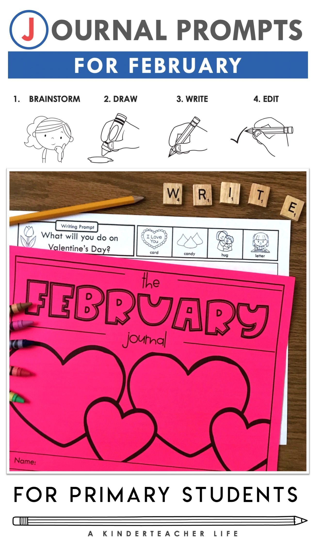 February Journal Prompts In