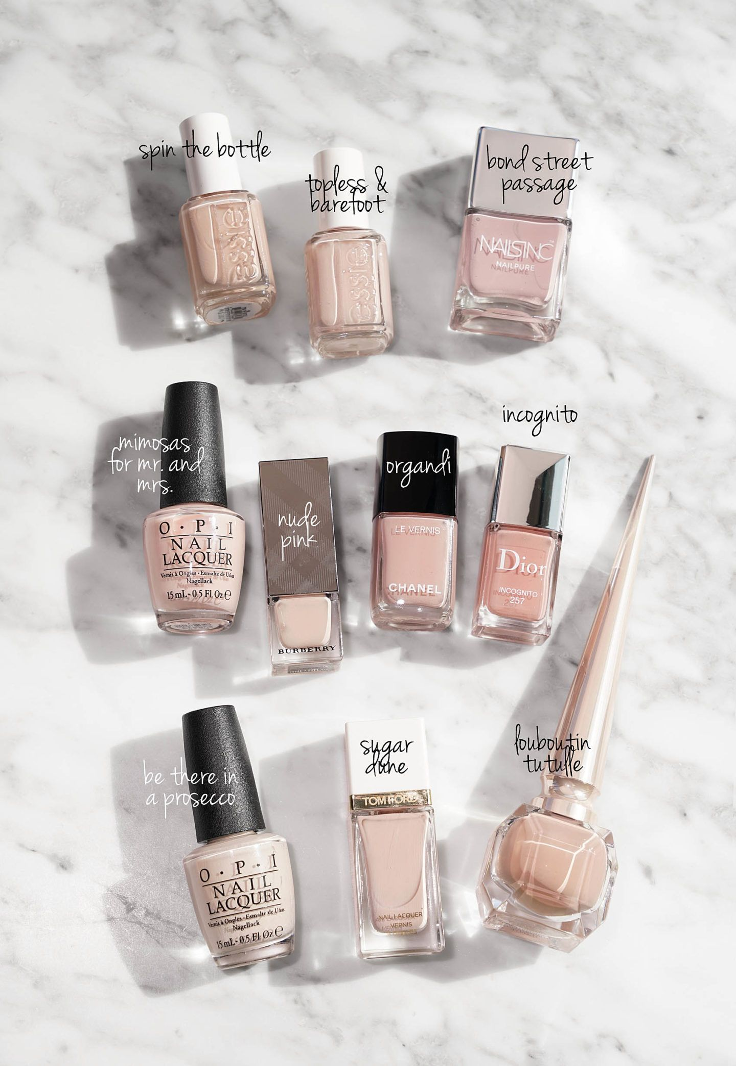 My Favorite Everyday Neutral Nail Polishes Neutral Nail Polish