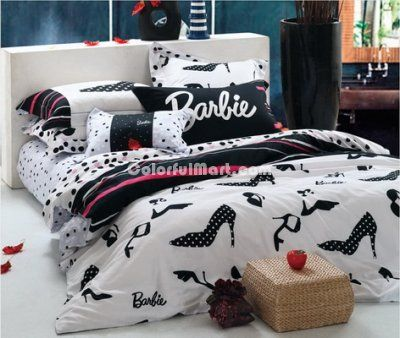 Dress Barbie Bedding Sets 149 99 Classic Black And White