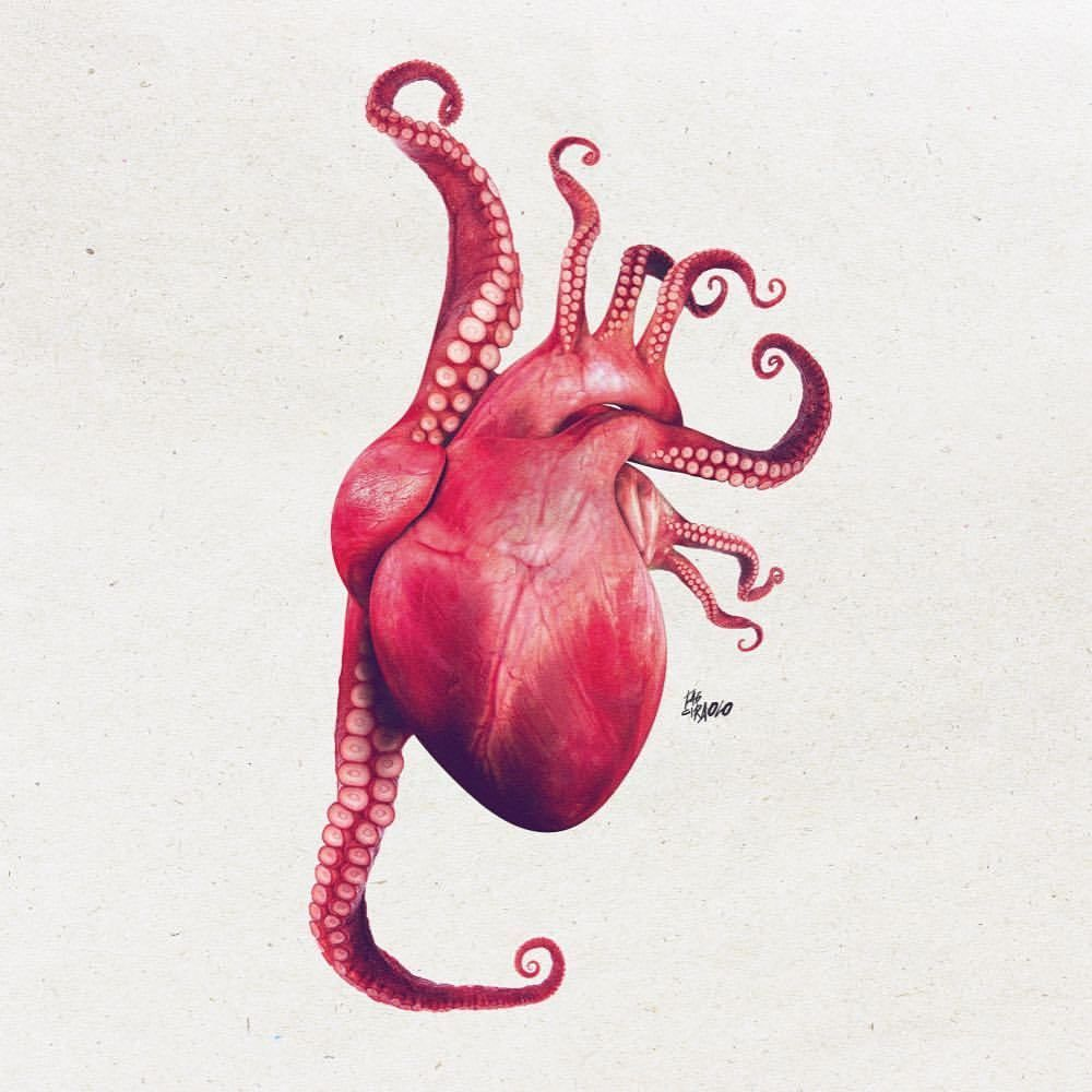Heartopus ❤ #fabciraolo | The past | Pinterest
