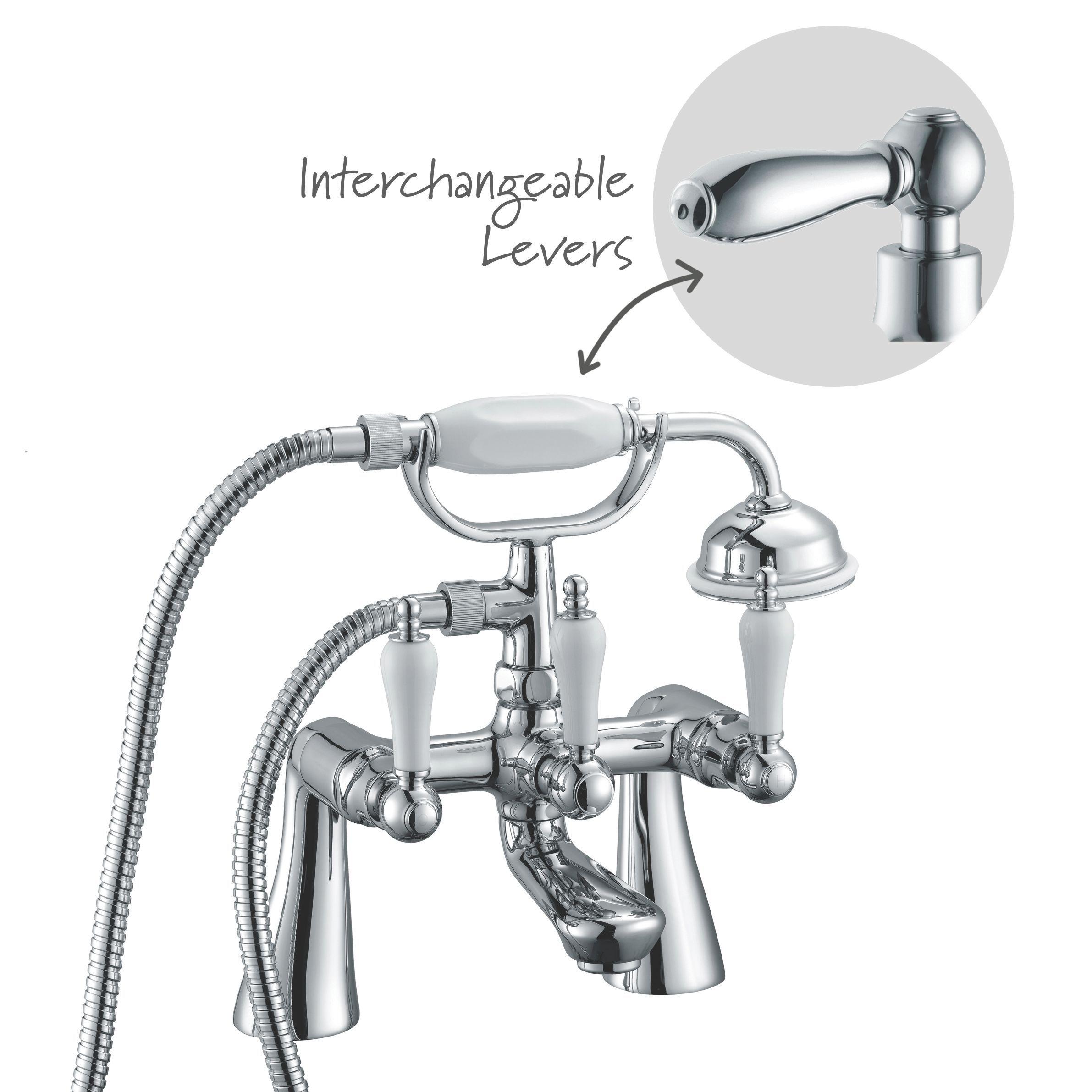 cooke lewis timeless chrome bath shower mixer tap bath shower cooke lewis timeless chrome bath shower mixer tap