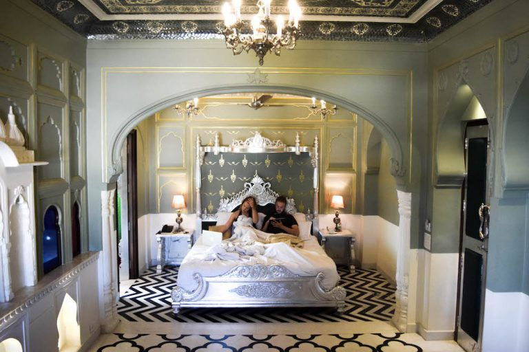 Where To Stay In Jaipur Review Of The Pearl Palace Heritage Boutique Hotel Beautiful