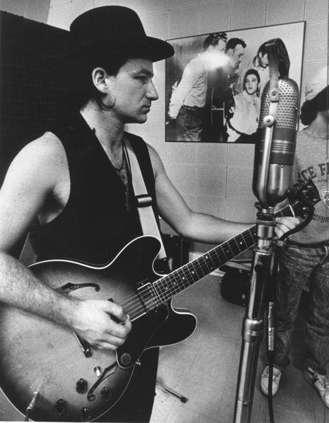 U2's Bono, Joshua Tree Era