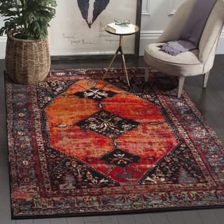 Shop for Safavieh Vintage Hamadan Orange / Multicolored Rug (8' x 10'). Get free…