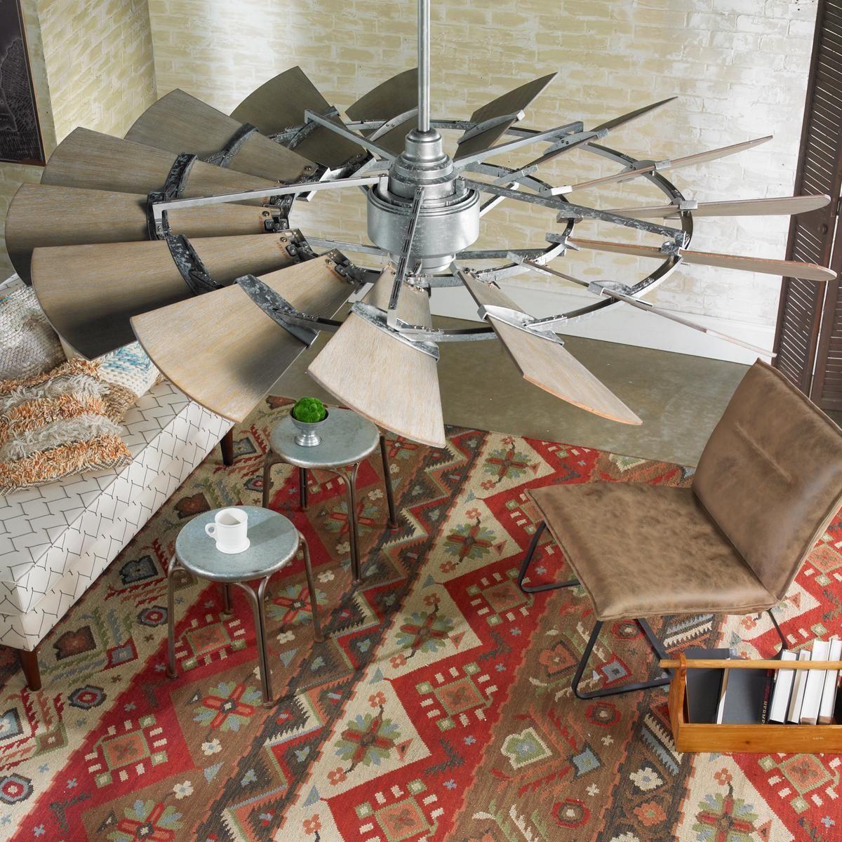 60 Outdoor Rustic Windmill Ceiling Fan Windmill Ceiling Fan