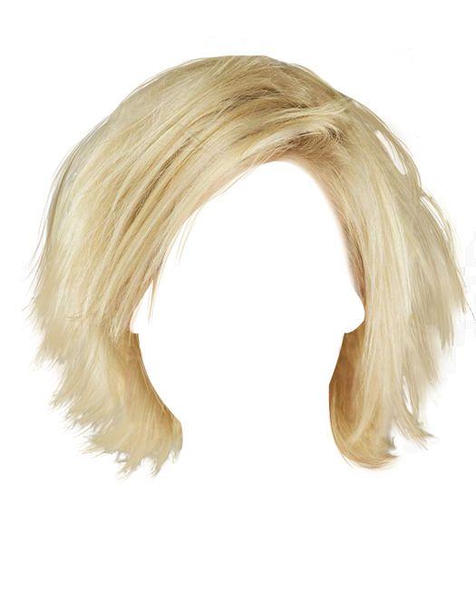 Hair Style Template: Pin Szerzője: Musil 57, Közzétéve Itt: Parókák és Hajak
