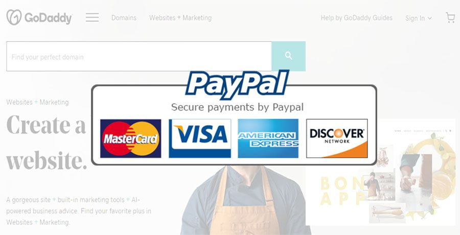 Godaddy add paypal as payment method marketing help