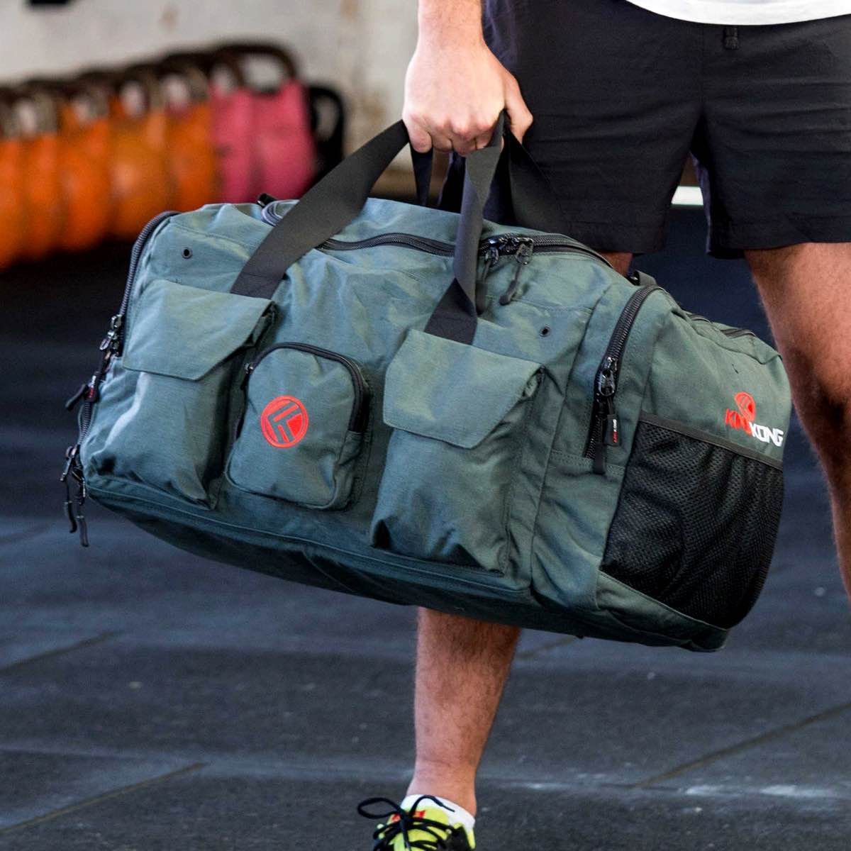 King Kong Crossfit Trips Por Travel Duffel Bags Accessories