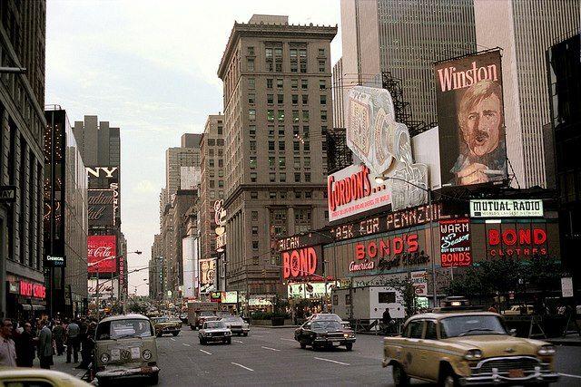 Manhattan 70 S Vintage New York Nick Dewolf Photo Flickr New