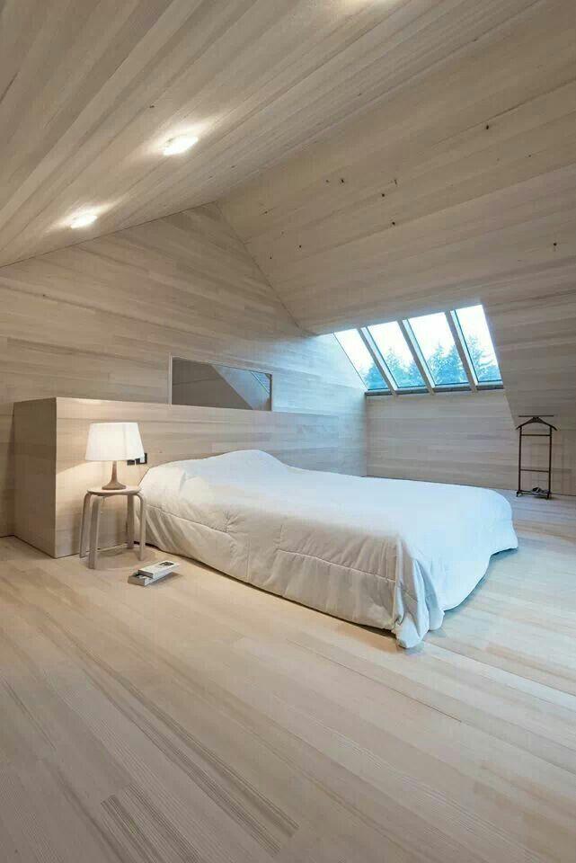 Pin von OOK Architects - Orla Ou0027Kane auf Interior - Bedrooms - schlafzimmer mit schräge