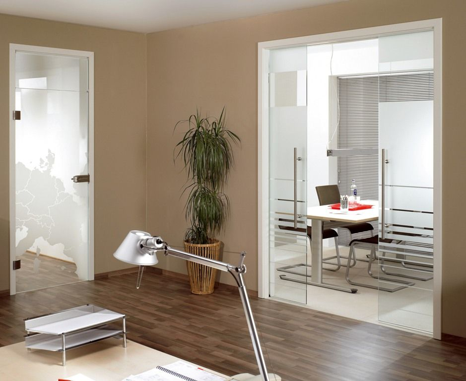 Glass Pocket Doors To Separate Dining Room And Playroom