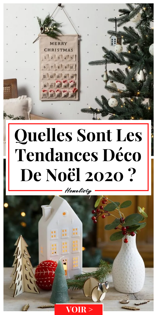 Noël 2020 les tendances décoration en 2020 Deco noel