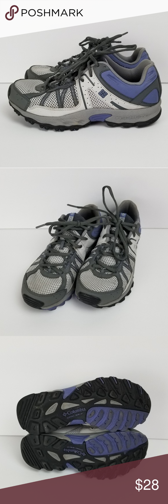 Columbia Women's Tech Lite Omni Grip Shoes sz 6.5 Columbia