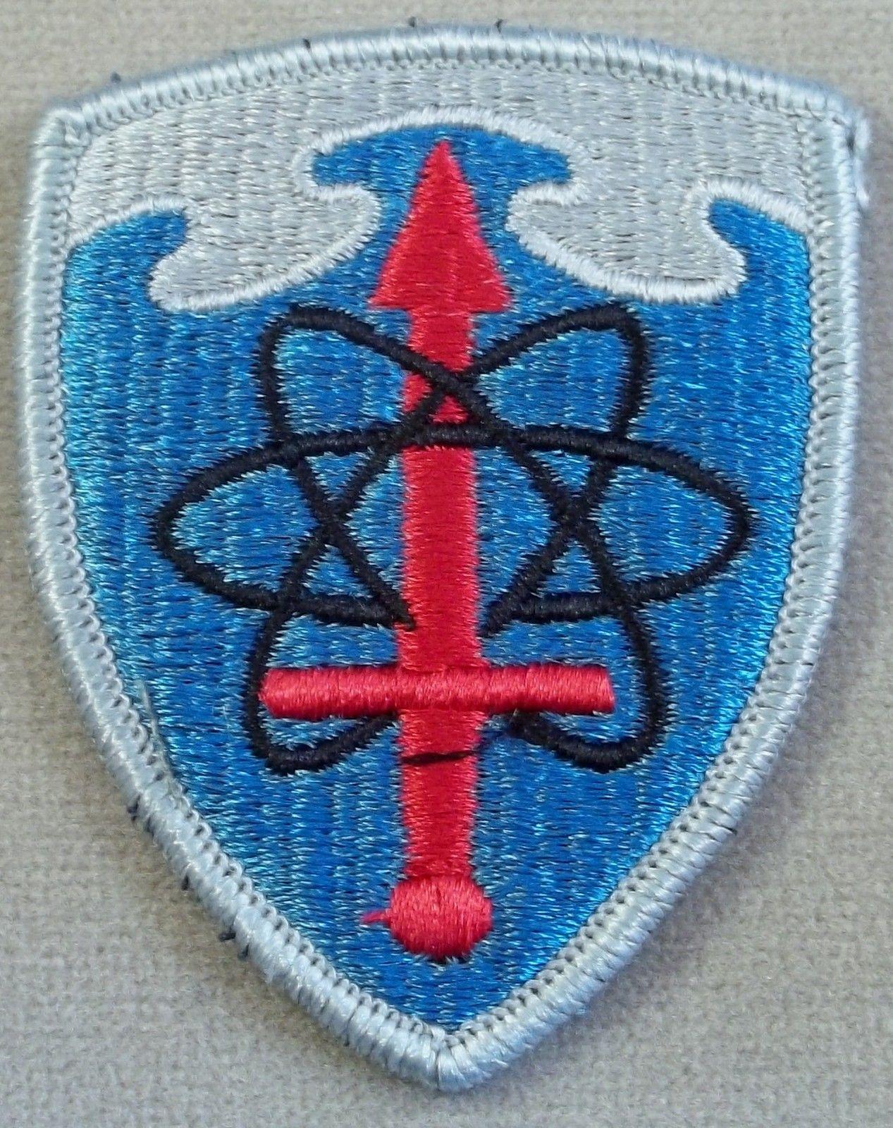 Army Patch type 2 Intelligence Agency merrowed edge