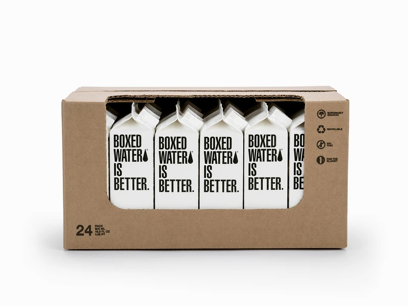 500ml Boxed Water in 2020 Box water, Boxed water is