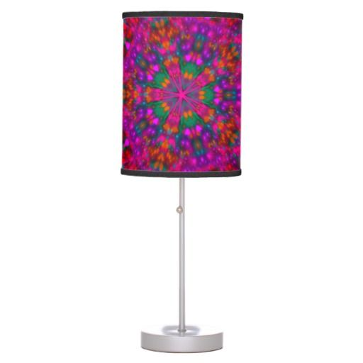 Beautiful Abstract Flower Table Lamp
