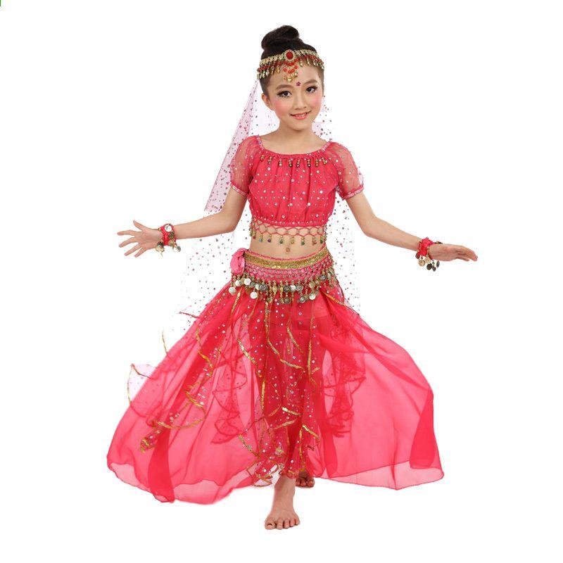 e235f7b47 Új stílus Kids Belly Dance Costume Keleti táncruhák Belly Dance ...