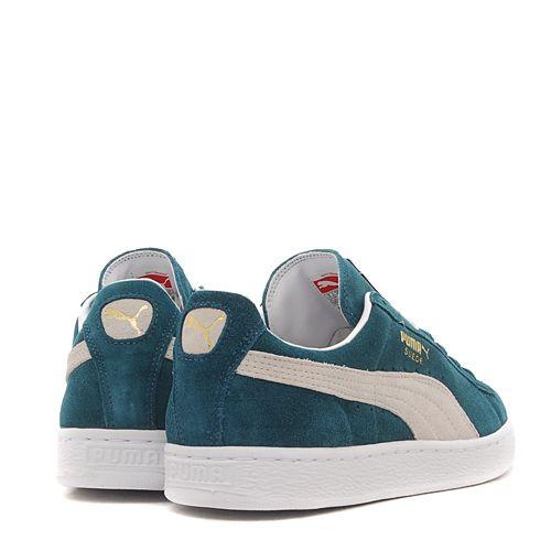 Puma Suede Classic+ deep teal green-white  e068bb798