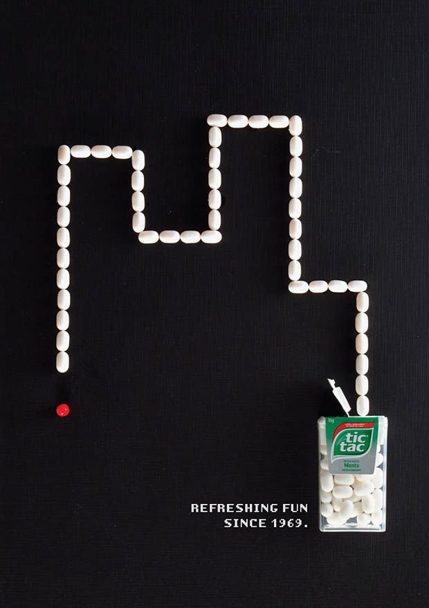 Tic Tac rend hommage aux jeux rétro avec cette campagne judicieuse ...