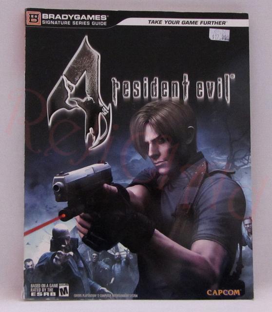 Resident Evil 4 Brady Games Guide