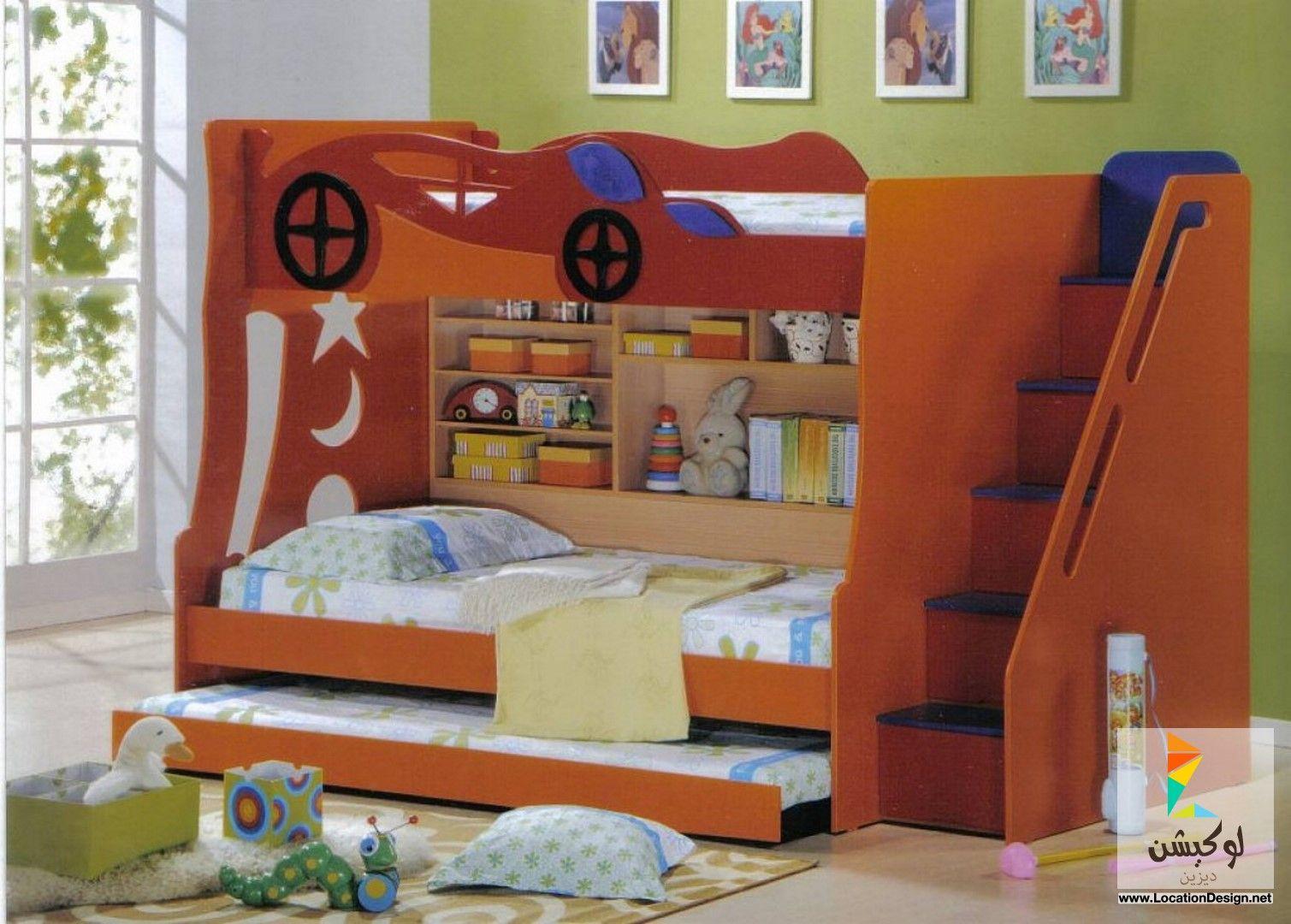 أحدث 10 ديكورات دهانات غرف نوم اطفال باللون البني لعام 2015 لوكيشن ديزاين Childrens Bedroom Furniture Sets Toddler Bedroom Sets Kids Bedroom Furniture Sets