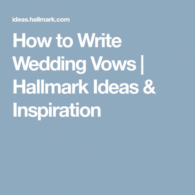 How to write wedding vows that wow Best man wedding