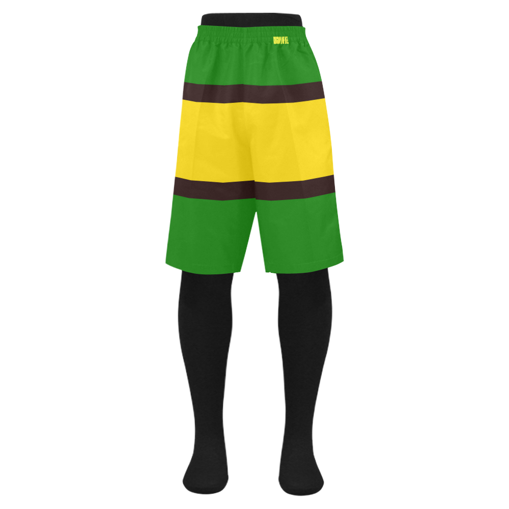 0ca0b79a04 Jamaica flag colors Men's Swim Trunk | Yeh Mon ✌ | Swim trunks ...