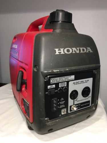 Honda EU2000i 2000 Watt 3.5 HP Generator/Inverter (Local Pick Up)