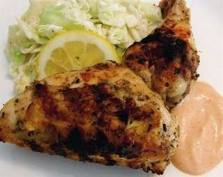 Lemon yogurt chicken