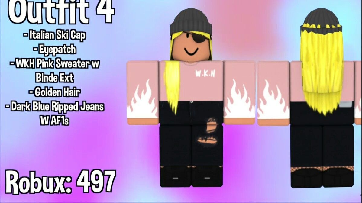 Pin By Marilyn Vasquez On Roblox Roblox Codes Roblox Pink Sweater