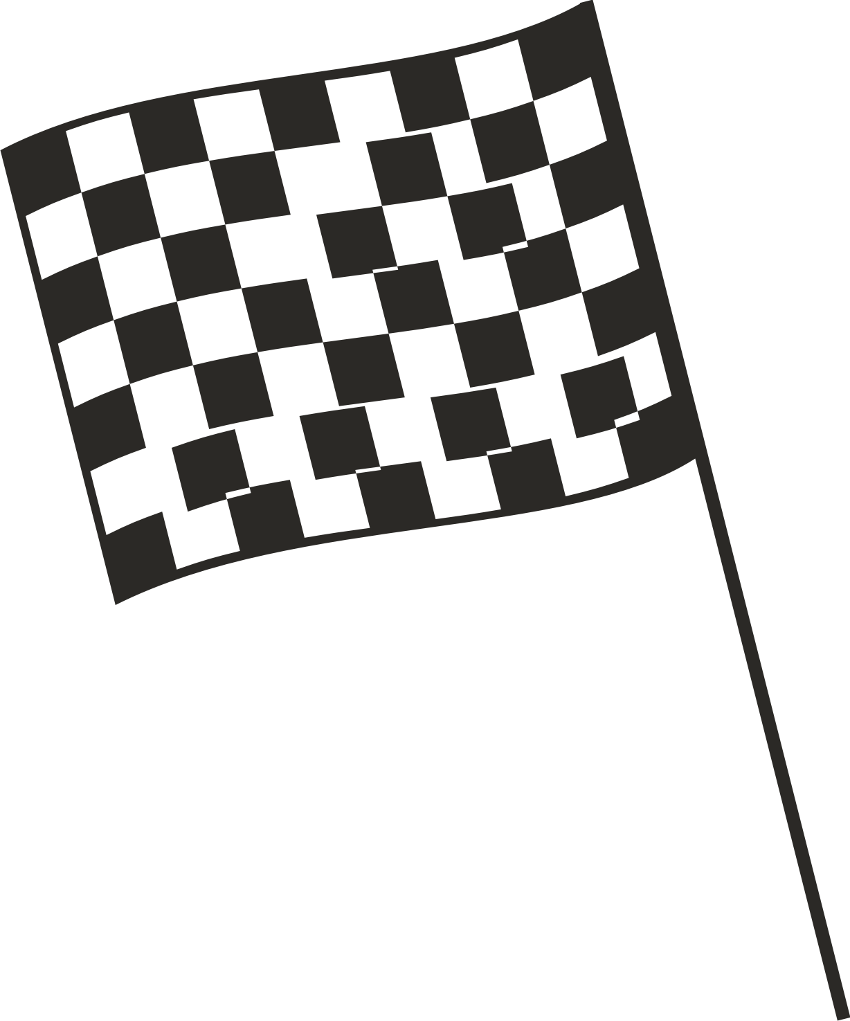 Checkered Flag Nascar Borders